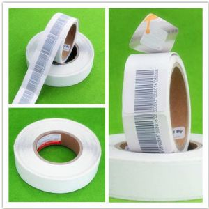 White Sensitive 8.2 MHz Anti Theft Self Adhesive Labels Sticker pictures & photos