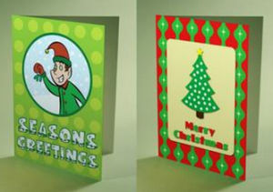 Seasons Greeting Card Customized Accept pictures & photos
