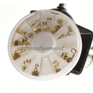 3D Nail Art Metal Decoration Wheel Accessories (D62)