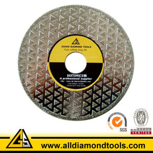 Electroplated Diamond Saw Blade Cutting Tools for Marble Ceramic pictures & photos