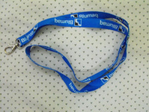 Corporate Logo Printed Staff Polyester Lanyard pictures & photos