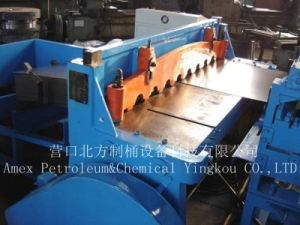 Steel Barrel Production Line Steel Drum Sheet-Cutting Machine pictures & photos