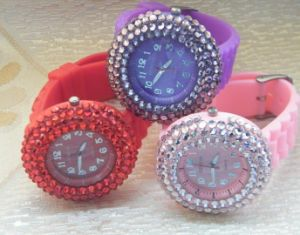 Colorful Gift Fashion Silicone Watch (JY-GJ022)