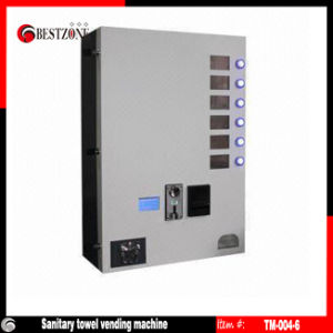 Vending Machine or Dispenser for Condom or DVD or CD or Snack (TM-004-6) pictures & photos