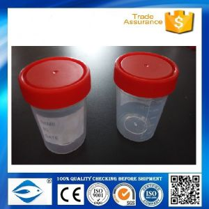 120ml Disposable Urine Cup Plastic Parts pictures & photos