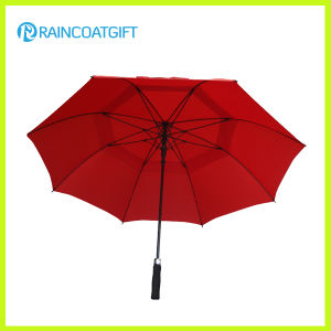 Double Canopy 30inch Straight Golf Umbrella Rum0704-01 pictures & photos