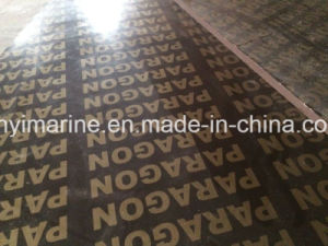 Shuttering/Film Faced Plywood Poplar Core WBP Glue Building Material pictures & photos