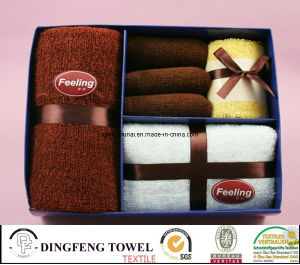 X′mas Season Design Promotion Cake Gift Towel Sets Df-2871 pictures & photos