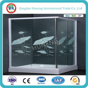 Ht Selling Chinese New Design Tempered Shower Cabin Glass pictures & photos