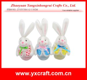 Easter Decoration (ZY15Y308-1-2-3) Easter Rabbit Jar Party Decoration Easter Gift Use Pen Holder pictures & photos