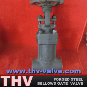Bellows Sealed Forged Steel Gate Valve