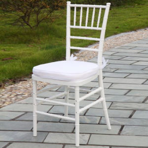 White Plastic Tiffany Chair for Wedding pictures & photos