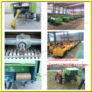 High Efficiency Tractor Round Baler pictures & photos