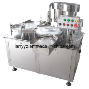 XL-1 Mini Vial Filling Machine & Vial Filling Plugging Capping Machine & Vial Filling Stoppering Crimping Machine pictures & photos