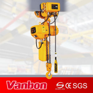 2ton Electric Chain Hoist with Electric Trolley (WBH-02002SE) pictures & photos