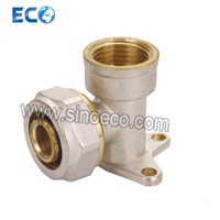 Brass Pex Pipe Fitting Female Seat 90 Degree Elbow pictures & photos