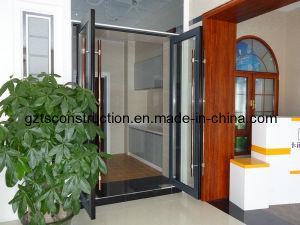 Customzied Aluminium Double Glazing Floor Spring Door/Entrance Door/Floor Hinge Door pictures & photos