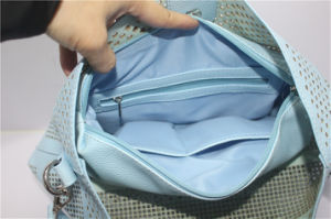 Fashionable Laser Cut Pattern Hobo Bag Women Handbags pictures & photos