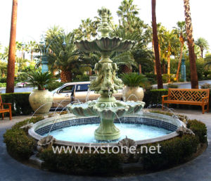 China Sculpture Marble Fountain for Garden Decoration China