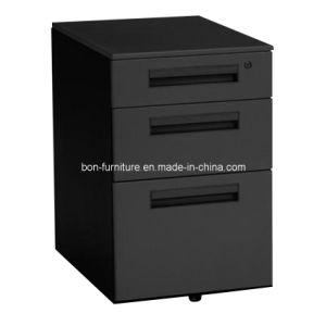 Polished Steel Filing Cabinet/ Filing Cabinet 3 Drawer pictures & photos