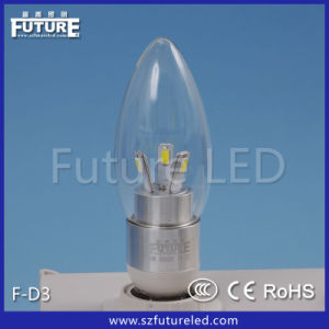 High Brightness CE RoHS Approved 3W E14 LED Light F-D3 pictures & photos