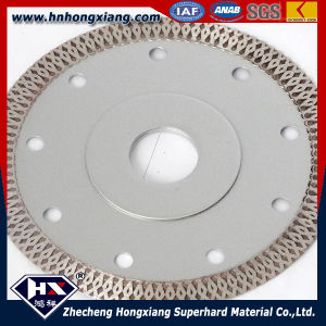 Cyclone Mesh Turbo Diamond Saw Blade/ Wet Cut/ Hot Sale in 2016 pictures & photos
