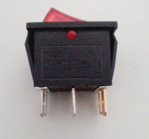 Rocker Switch Push-Button Electric Switch/Push Button Switch Snap Kcd4 pictures & photos