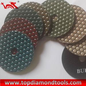 Dry Flexible Polishing Pad Diamond Tool for Concrete/Marble/Granite pictures & photos