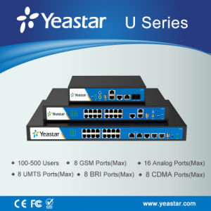 Yeastar FXO, FXS, Bri, GSM and Pri Ports VoIP Phone PBX System Hybrid Ippbx pictures & photos