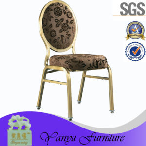 Round Back Aluminum Dining Conference Chair