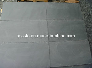 Natural Stone Black Slate Roofing Tiles for Outdoor Decoration pictures & photos