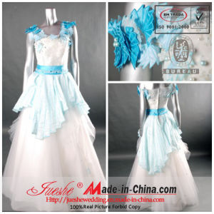 Party Dress/Sleeveless Wedding Gown (L-48)