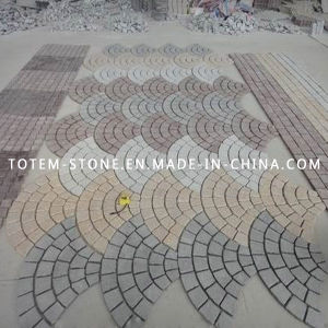 Natural Granite Stone Tumbled Block Paving for Driveway, Walkway, Garden pictures & photos