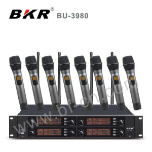Bu-3980 Professional UHF Wireless Conference Microphone System pictures & photos