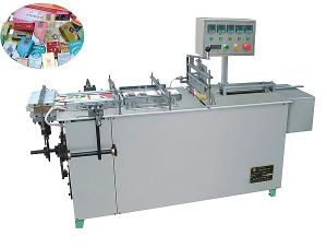 Stationery Semi-Auto Adjustable Cellophane 3D Cellophane Packaging Machine pictures & photos