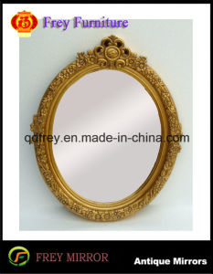 Wooden Wall Mirror Frame with Antique Design pictures & photos