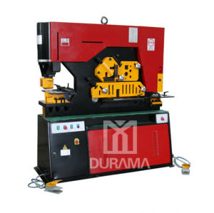 Durama Qualified Hydraulic Ironworker /Cutting Machine/ Ironwork Machine/Universal Punching & Shearing Machine / Cutting Machine / Punching Machine pictures & photos