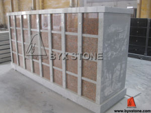 Maple Red Granite Columbarium / Stone Cemetery Columbaria pictures & photos