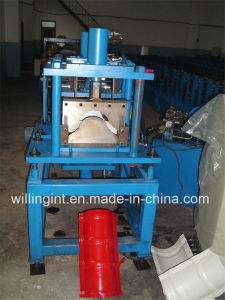 Steel Tile Ridge Cap Tile Making Roll Forming Machine pictures & photos