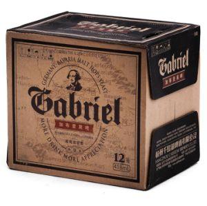 Abv4.3% 11plato 418ml Brown Bottle Gabriel Black Beer pictures & photos