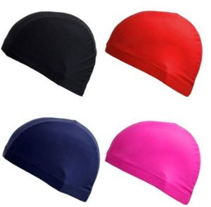 Lycra Cloth Fabric Swimming Swim Cap Hats Bathing Hats pictures & photos