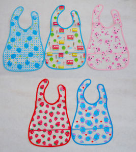 PEVA Printed Baby Bibs pictures & photos
