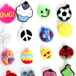 Various Rubber Buttons Charms for Kids Shoe pictures & photos