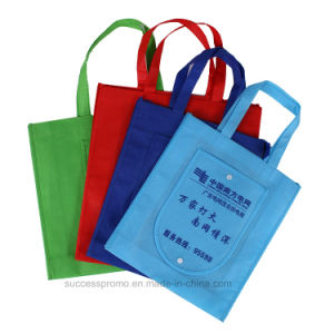 Promotional Gifts Reusable Non-Woven Fabric Foldable Bag pictures & photos
