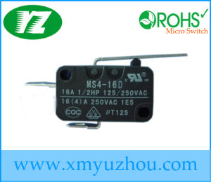 Mini Latching Micro Switch 16A 125V 250V pictures & photos