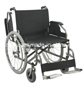 Functional Steel Manual Wheelchair Alk951 pictures & photos