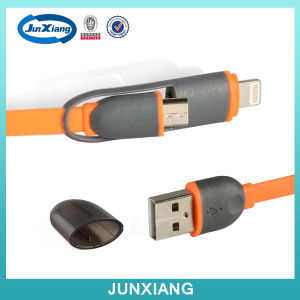Universal Mobile Phone Accessories 2 in 1USB Data Cable pictures & photos