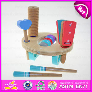 2015 Mini Wooden Percussion Musical Toy Set, Wooden Musical Percussion Instrument Set, Multifunction Wooden Percussion Set W07A086 pictures & photos