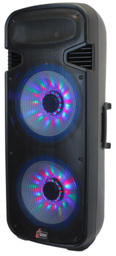 Hot Sale Karaoke PA Speaker with Three Colorful Light pictures & photos