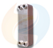 Zl52 Series High Heat Transfer Efficiency Stainless Steel Copper Brazed Plate Heat Exchanger